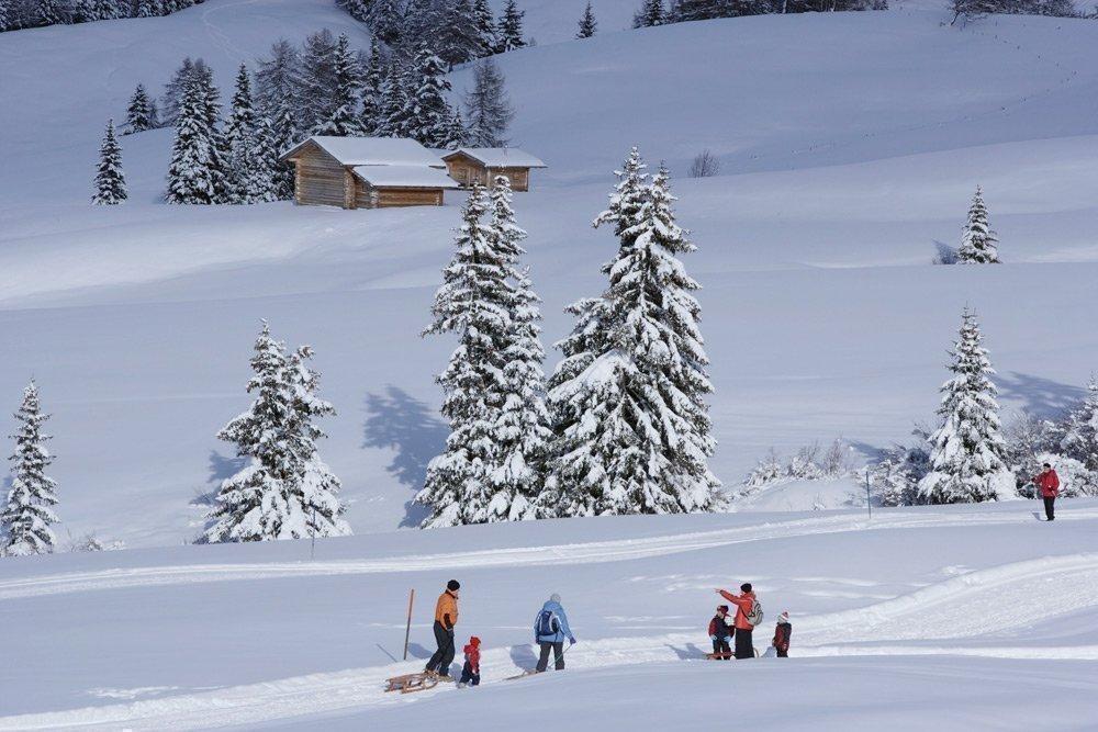 Avventure invernali in una vacanza sulla neve in Valle Aurina